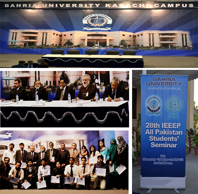 28th IEEEP All Pakistan Student Seminar