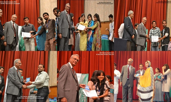 IEEE-MUET Student Branch Clinches 11 Awards at PSC'12
