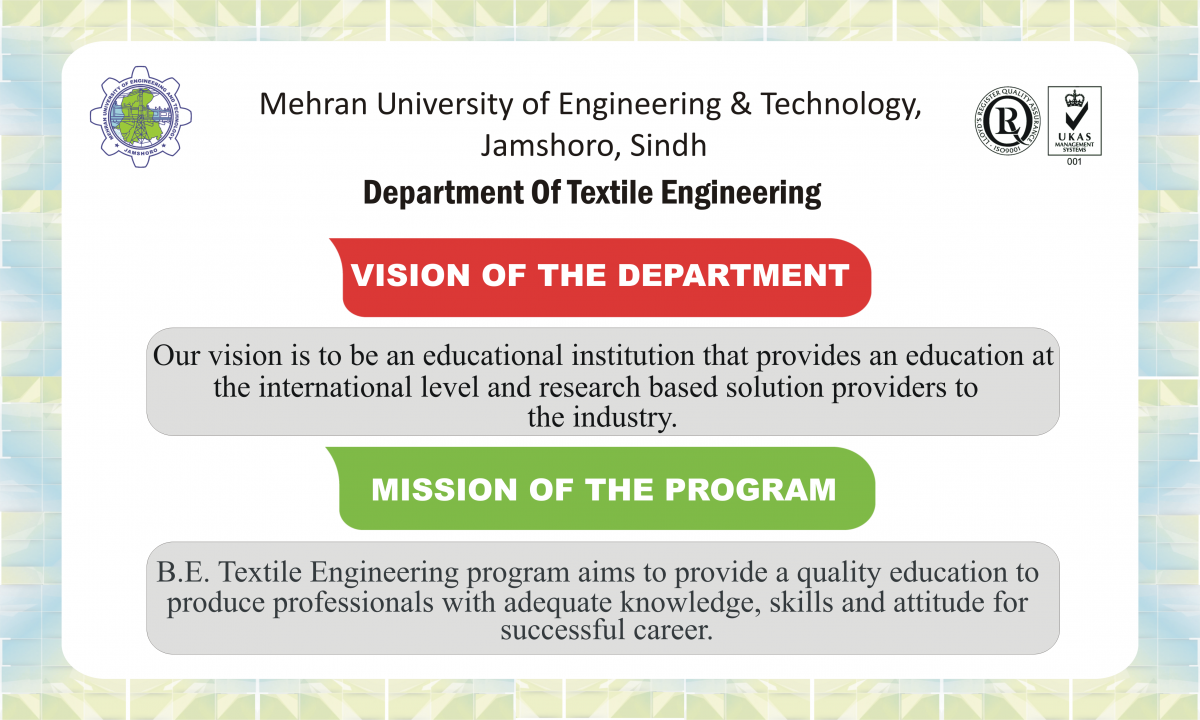 Outcome Based Education (OBE) System | Mehran University