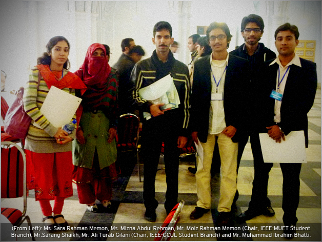 IEEE - MUET Students secure 3rd Position